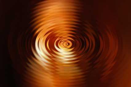 Wellen ziehen Kreise