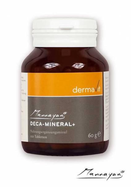 Mannayan Deca-Mineral mit 10 Mineralien & Spurenelementen