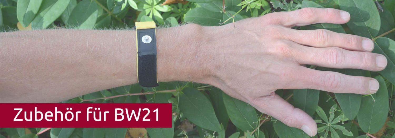 Biowave BW 21 Handgelenk Manschette mit Klettverschluss für Nassanwendung