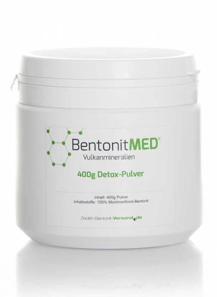 1 Dose 400 g Detox-Pulver - Natur-Montmorillonit-Bentonit Pulver