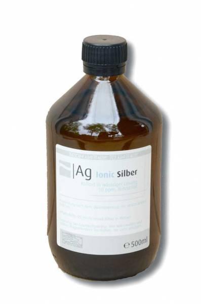 Vorschau: Braune FlascheKolloidales Silber 500ml