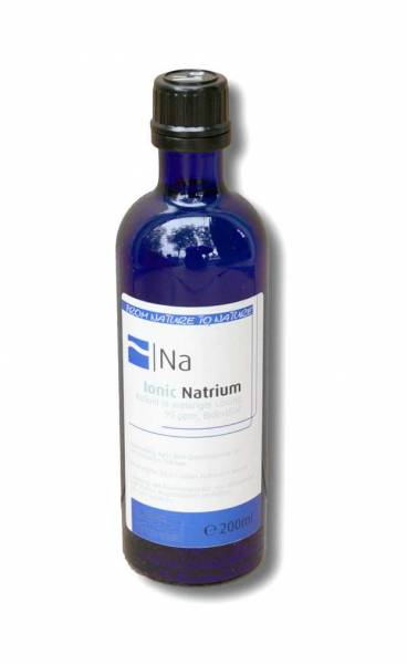 Vorschau: Kolloidales Natrium 200ml - als Kolloid perfekt bioverfügbar