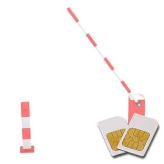 Chipkarte BLOCKADEN für Zapper Biowave nach Hulda Clark