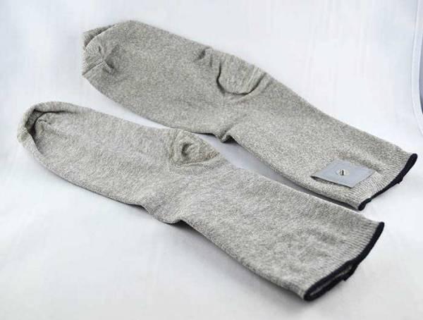 Socken aus Metall für Elektrostimulation, Zapper, Feinstrom