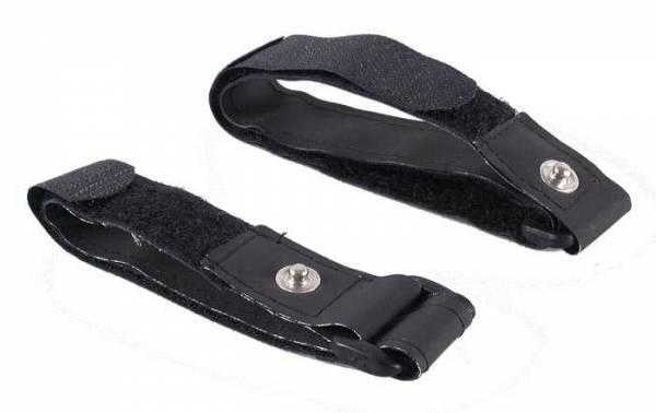 Diese schwarzen Arm-Elektroden müssen nicht nass gemacht werden