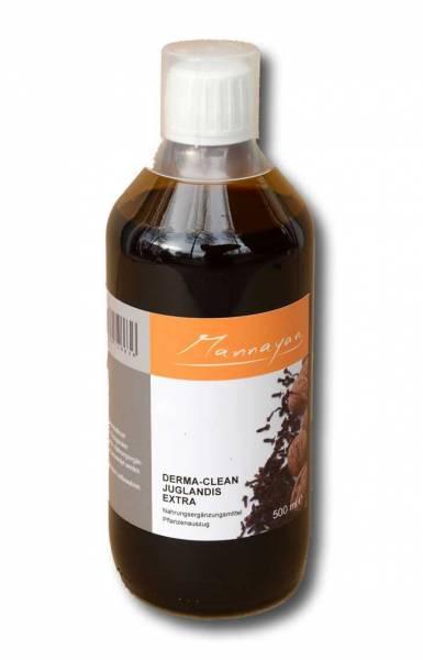 Braune Flasche 0.5 Liter Mannayan Derma - Clean Juglandis EXTRA