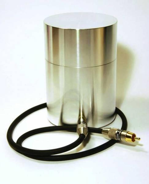 Einschwing Zylinder für Hydroresonanz Therapie mit AionoMed