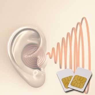 Chipkarte TIN (Tinnitus) für Zapper Diamond Shield nach Hulda Clark