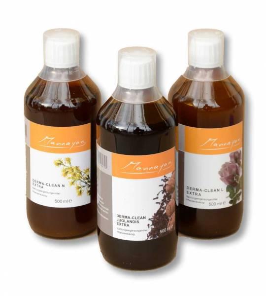 3 Flaschen Kräutertinkturen im Paket - Parasitenkräuter, Nierenkräuter  Leberkräuter