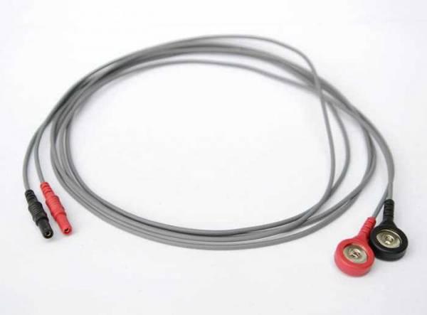 Ein Paar Kabel für Zapper Biowave