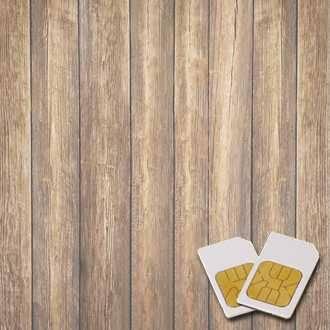 Chipkarte HOLZ-UNTERSTÜTZUNG für Zapper Diamond Shield nach Hulda Clark