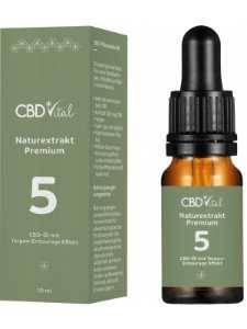 Vorschau: CBD-Öl Premium 5% mit Omega-3/6-Fettsäuren