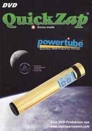 DVD über die Quickzap Powertube