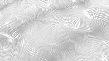 Silbernes, wellenartiges Muster