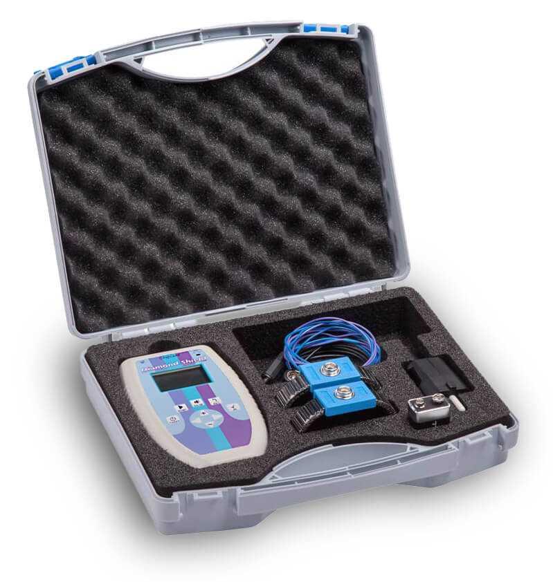 Zapper Diamond Shield mit Zubehör im Koffer