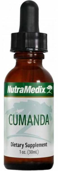 Cumanda Tropfen von NutraMedix 30ml, mit Pipette - hochwertiger Pflanzenextrakt - hohe Qualität