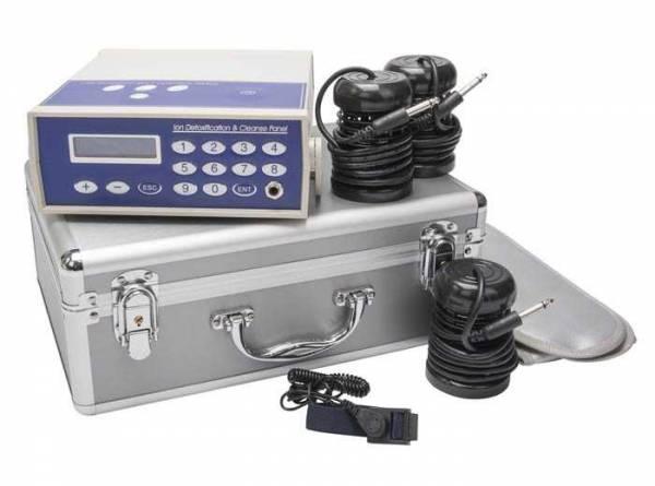 Vorschau: Elektrolyse Detox Fußbad Gerät - mit dem Ion Cleanser bequem entgiften