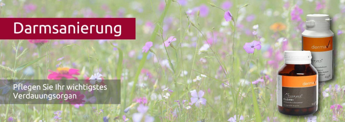 Clean+ Darmreinigung mit Probiotika,, Darmreinigung-Mannayan-Flor - Blumenwiese