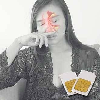 Chipcard SINUSITIS für Diamond Shield Zapper