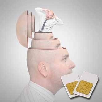 Chipkarte KM (Kopfschmerz-Migräne) für Zapper Diamond Shield nach Hulda Clark