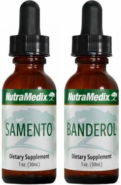 Samento und Banderol von Nutramedix - im Bundle mit je 30ml zum Sonderpreis