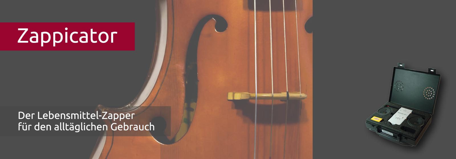Frequenzen wirken wie die Saiten eines Musikinstruments
