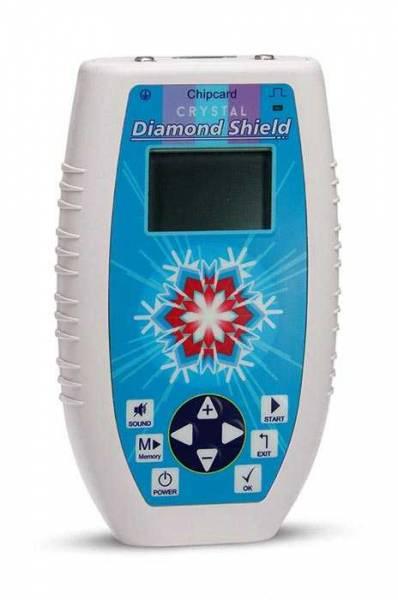 Vorschau:  Zapper Diamond Shield Crystal ein kleines handliches Gerät mit Memory-Funktion