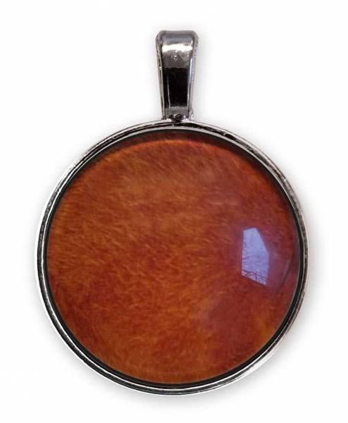 Vorschau: Das E-Blocker Amulett gibt es auch in verschiedenen einfarbigen Tönungen, hier orange