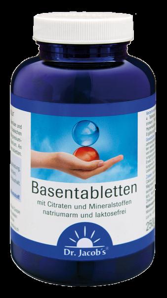 Basenpulver gepresst in Dr Jacobs Tabletten - hier kaufen