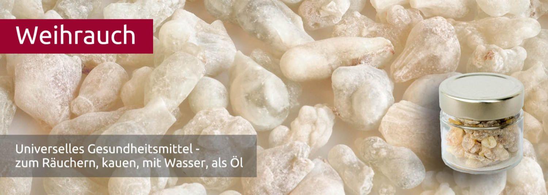 Glas 50 g Weisser Weihrauch aus dem Oman