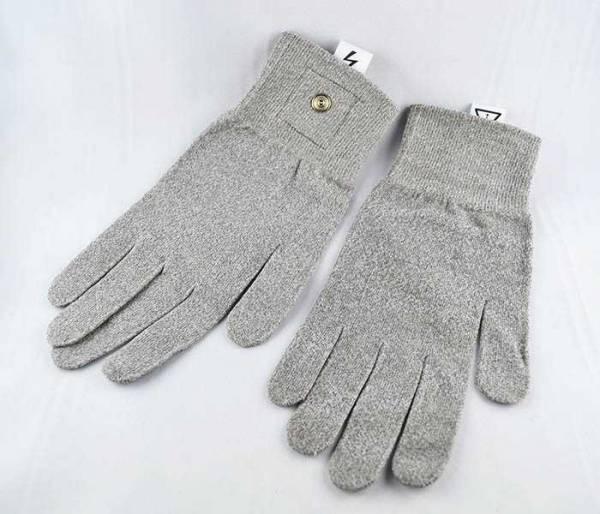 Handschuhe aus Metall für Elektrostimulation, Zapper, Feinstrom